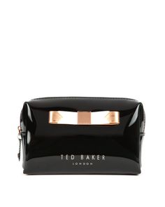 Small bow cosmetic case - Jet | Gifts for Her | Ted Baker