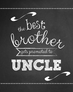 The Best Brother Gets Promoted to Uncle Wine Label, Pregnancy Announcement Wine Label, Announcing Pregnancy to Family, Custom Wine Label