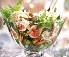 Recette facile et gourmande de la salade aux figues