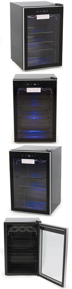 Food And Drink: Beverage Wine Cooler Chiller Rack Mini Refrigerator Digital Touch Led Beer Soda -> BUY IT NOW ONLY: $219.97 on eBay!