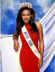 Kenya Moore Miss Michigan USA 1993 also won the Miss USA Pageant that year.