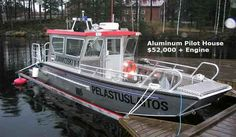 Hi friends, This is very important Allmand boats site. www.newaffordableboats.com Pilot House Boats-Aluminum 24' Pilot House work Boats Specifications Length Overall:24 ft. 3 in.;Beam Overall:8 ft. 0 in;Hull Draft:6 in;Weight:3,500 lbs;Capacity:4,000 lbs;Standard Fuel Capacity:Optional;Maximum O/B Horsepower:250; Landing Craft, Aluminum Boat, Pirate Life, Fishing Boats, 40 Years, Pilot, Hunting, Engineering, Camping