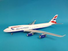 INFLIGHT200 Boeing 747-400 British Airways G-BYGB (with stand) Ref:IF-747-11-001 #INFLIGHT200