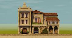 ριntєrєѕt: үαsмιη к.ღ @тнeүαsмιη∂σℓℓ Minecraft Villa, Minecraft Building Guide, Minecraft City Buildings, Minecraft Farm, Minecraft Structures, Minecraft Banners, Minecraft Plans, Minecraft Medieval, Minecraft House Designs