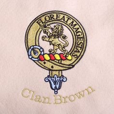 Clan Brown/Broun Cus