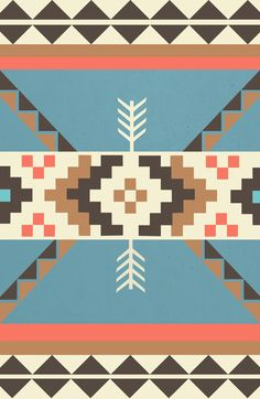 AZTEC Stretched Canvas
