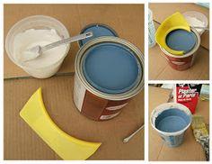 Nine Red: School of Restoration: DIY Chalk Paint