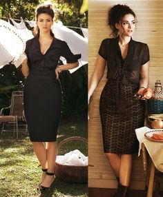 Screen Siren: 8 Sexy Plus Size Patterns - these are great but 'plus size'? what is plus size about this chick?