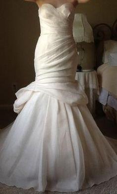 Monique Lhuillier Peony 3 500 Size 8 New Un Altered Wedding Dresses