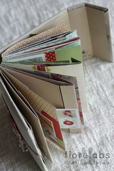 Hobby di Carta - Il blog: MINIALBUM: C is for CHRISTMAS by Fiorella