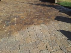 Pavers around pools--stained?