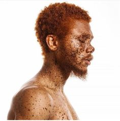 @souffrantnyc    red head. Afro hair. Curly red hair. Afro red head. Men's hair. Bearded men.