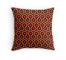"""The Shining - Carpet pattern "" Throw Pillows by sirllamalot 