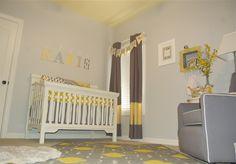 Yellow and Gray Nursery