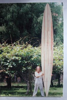 Roy Stuart Surfboards. Talk about a longboard