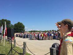 Memorial Day Service Carroll County Veteran's Memorial Park #memorialday