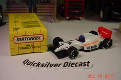 Matchbox Formula Racer White Black 1995 74 Box