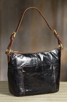 Hobo Charlie Leather Handbag | Overland Sheepskin