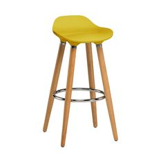 Modern #barstools looks amazing in front of kitchen counter. You can add bar stool in yellow ABS to add fresh look in your #livingarea. It easily complements with most of the #decors.