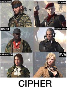 Metal Gear V, Snake Metal Gear, Metal Gear Solid Series, Big Boss Metal Gear, Cry Anime, Anime Art, Game Character, Character Design, Revolver Ocelot