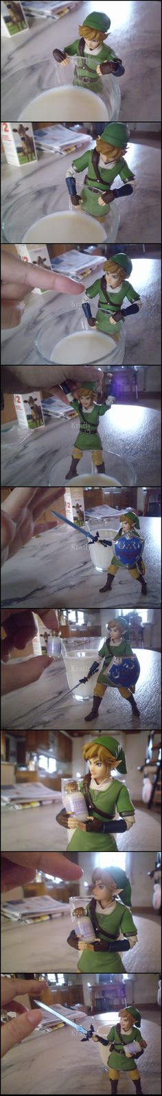 how to get milk in zelda
