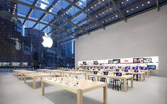 Apple has been trying to open its official retail stores in the Indian territory. The list of the first locations for Apple Stores in India is finalised. Mac Store, New York Life, Upper West Side, Norman Foster, Commercial Architecture, Merchandising Displays, Event Calendar, Commercial Design, Apple Products