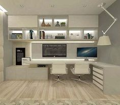Leading 30 Stunning Home Office Layout - Study Room Home Office Filing Cabinet, Home Office Table, Home Office Layouts, Home Office Setup, Home Office Lighting, Home Office Space, Office Table Design, Home Office Design, Home Interior Design