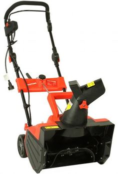 Maztang Electric Snow Blower - With the Maztang Electric Snow Blower , you no longer have to worry about getting snowed in. This snow blower is built for.