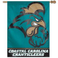"""Coastal Carolina Chanticleers 27""""x37"""" Banner"""