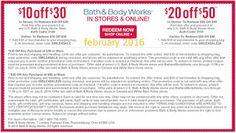Printable Coupons: Bath And Body Works Coupons