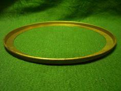 "Solid Brass Ring 7"" diameter SL23357"
