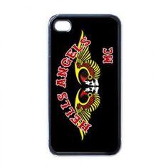 New Hells Angels MC Design Apple iPhone 4 4S Hard Shell Plastic Case Cover - customartdeal