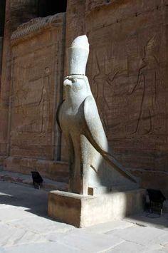 Horus at the Temple of Edfu