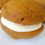 Pumpkin whoopie pies--would use regular filling instead of maple.