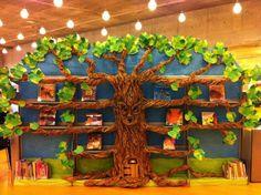 Olá pessoal!     Hoje tem ideias bastante criativas para criar um lindo Cantinho de Leitura ou incrementar a Biblioteca da escola.        ...