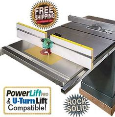 Cast-Iron Extension Router Table