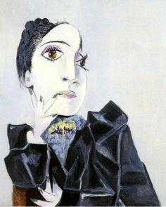 "mybluewindow:  Pablo Picasso -""Buste de Dora Maar 1"".1936"