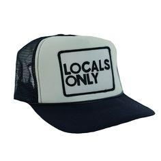 d25150c4405 Locals only vintage trucker hat