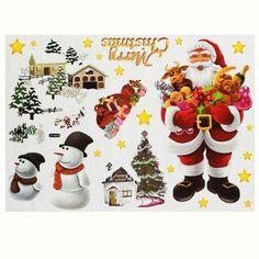Merry Christmas Wall Stickers DIY Christmas Tree Window Wall Decor Happy New Year //Price: $8.12 & FREE Shipping //     #wallstickerforbedroom #wallstickerforlivingroom #wallstickerforkids #wallstickerforkitchen #3Dwallsticker #removeablewallsticker #treewallsticker ##3wallstickers#3dbutterflywallstickers #3dmirrorwallstickers #3dwallsticker #3dwallstickermalaysia #3dwallstickers #3dwallstickersamazon #3dwallstickersaustralia #3dwallstickersbeach #3dwallstickersebay #3dwallstickerspakistan…
