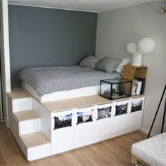 small bedroom design , small bedroom design ideas , minimalist bedroom design for small rooms , how to design a small bedroom Home Decor Bedroom, Small Room Bedroom, Bedroom Design, Minimalist Bedroom Decor, Small Bedroom Designs, Bedroom Diy, Closet Small Bedroom, Room Design, Small Apartment Storage