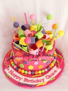 Merry Go Round - Cupcakes & Cakes: Birthday Cake