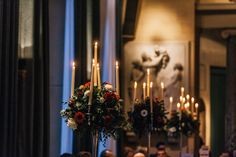 Since the Woburn Abbey wedding was taking place during the month of December, it was filled with such a cosy festive feel. Woburn Abbey, Manchester, Christmas Tree, Wedding Photography, Candles, Holiday Decor, Wedding Shot, Xmas Tree, Xmas Trees