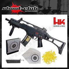 Softairgewehr Heckler & Koch G36 C AEG 0,08 J - Set #shootclub #airsoft #softair