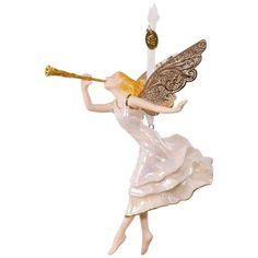 Angel of Winter Wonder Premium Porcelain Ornament,