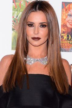 Cheveux Cheryl Avec Longue Edgy bronde