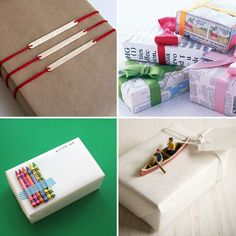 Gift wrap ideas for kids | At Home in Love