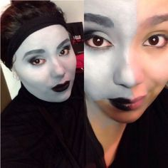 31 Days of Halloween: Gray Scale – Makeup by Vicktoria