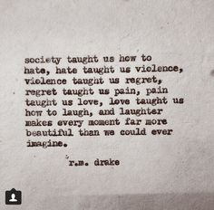 R.m Drake quotes on instagram
