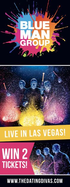 GIVEAWAY ALERT!!! You are gonna want to STOP what you are doing and READ THIS! Blue Man Group is GIVING AWAY two tickets to their show in Las Vegas... Aaaaand WE are sending one of our girls out there to see the show, too! Woot woot!!! Check out today's post for all the details and to see how EASY it is to enter to win!! @BlueManGroup #DareToLive ad