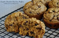 Pumpkin Chocolate Chip Bran Muffins - Cook This Again, Mom! I decided to spice up an old bran muffin recipe.
